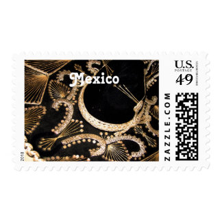 Mexican Sombrero Postage Stamps