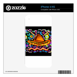 Mexican Sombrero Skin For The iPhone 4S