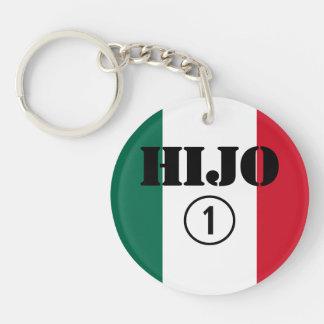 Mexican Sons : Hijo Numero Uno Single-Sided Round Acrylic Keychain