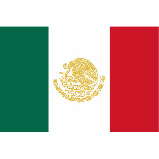 Mexican States, Mexico flag Acrylic Cut Out