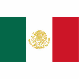 Mexican States, Mexico flag Cut Outs