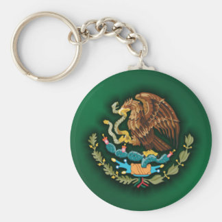 Mexican Steel 2 (green) Keychains