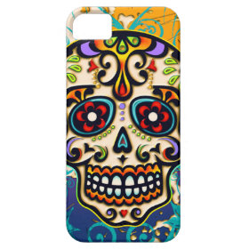 Mexican Sugar Skull, Day of the Dead iPhone 5 Covers