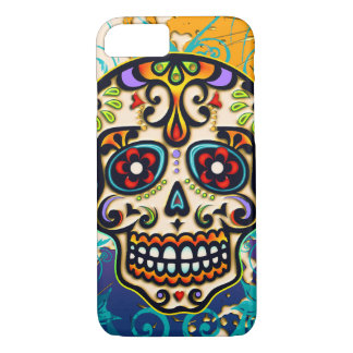 Mexican Sugar Skull, Day of the Dead iPhone 7 Case