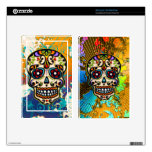 Mexican Sugar Skull, Day of the Dead Kindle Fire Decals