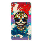 Mexican Sugar Skull, Day of the Dead, Ornaments Custom Shipping Label