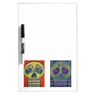 Mexican Sugar Skull Dry-Erase Whiteboard