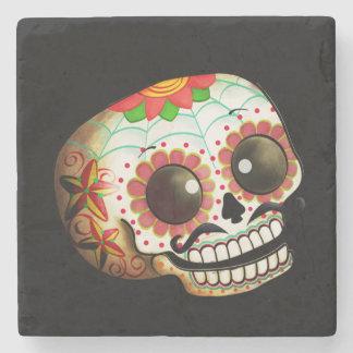 Mexican Sugar Skull Stone Coaster