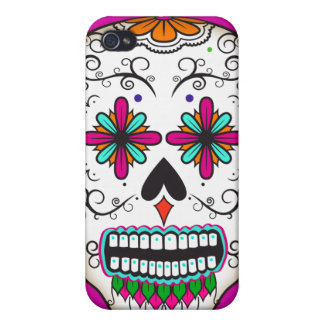 Mexican Sugar Skull Speck iPhone 4 Case