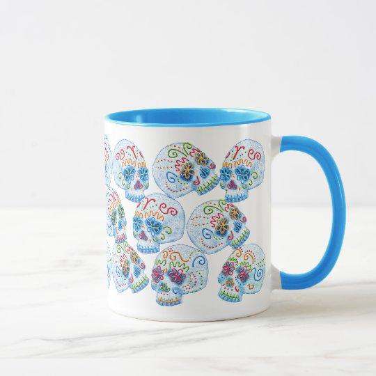 Mexican Sugar Skulls Mug