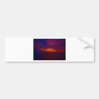 Mexican sunset bumper sticker