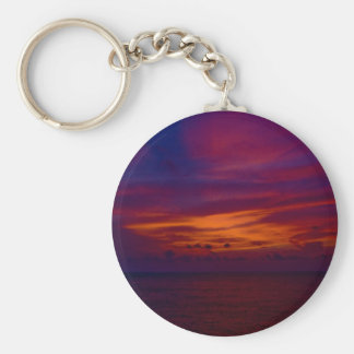 Mexican sunset keychain