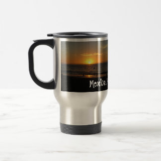 Mexican Sunset; Mexico Souvenir 15 Oz Stainless Steel Travel Mug