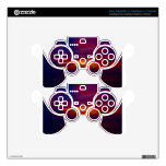Mexican sunset PS3 controller skins