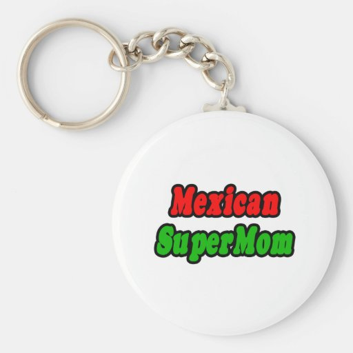 Mexican SuperMom Keychain