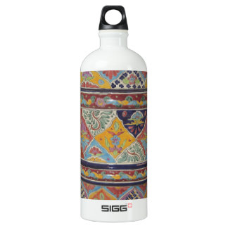 Mexican Talavera style pottery SIGG Traveler 1.0L Water Bottle