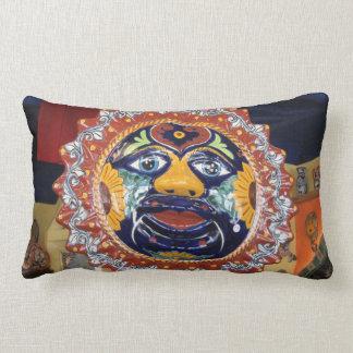 Mexican Talavera style sun Pillow