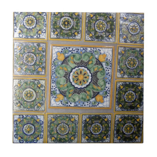 Mexican Talavera style tiles