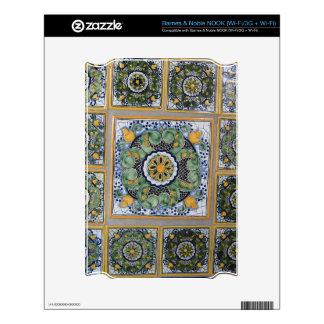 Mexican Talavera style tiles NOOK Decals