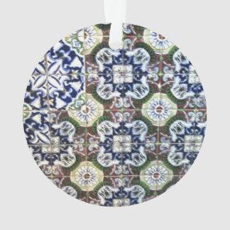 Mexican Talavera tile design Ornament
