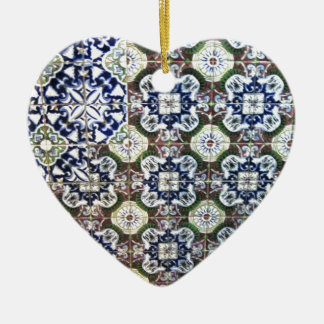 Mexican Tile design Ceramic Ornament