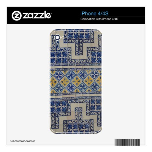 Mexican Tile iPhone 4 Skin
