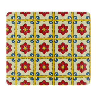Mexican Tile Vintage Style Cutting Board