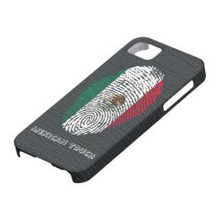 mexican touch fingerprint flag iPhone SE/5/5s case