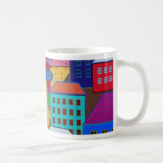 Mexican Town by Prisarts Coffee Mug