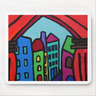 MEXICAN TOWN PUEBLO I MOUSE PAD