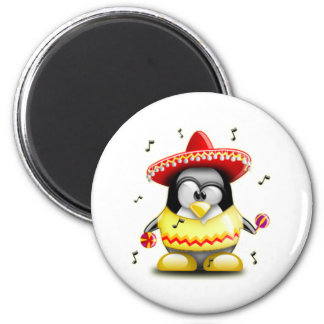 Mexican Tux 2 Inch Round Magnet