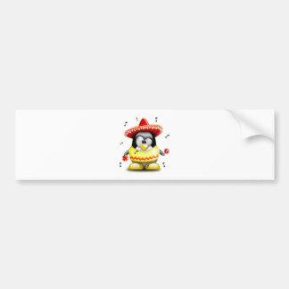 Mexican Tux Bumper Sticker