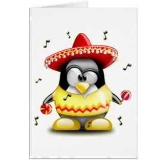 Mexican Tux Card