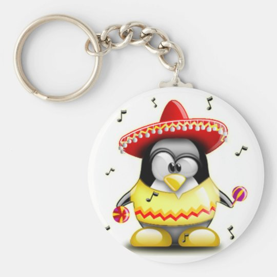 Mexican Tux Keychain