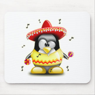 Mexican Tux Mouse Pad
