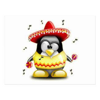 Mexican Tux Postcard