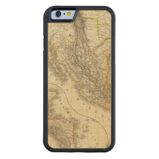 Mexican United States, Central America Carved® Maple iPhone 6 Bumper
