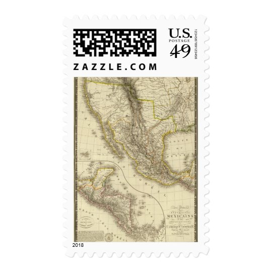 Mexican United States, Central America Postage