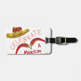 Mexican Victory Luggage Tag