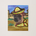 MEXICAN VILLAGE JIGSAW PUZZLE