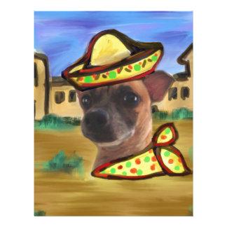 MEXICAN VILLAGE LETTERHEAD