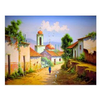 Mexican Village of El Quilete Postcard