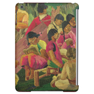 Mexican village scene cover for iPad air