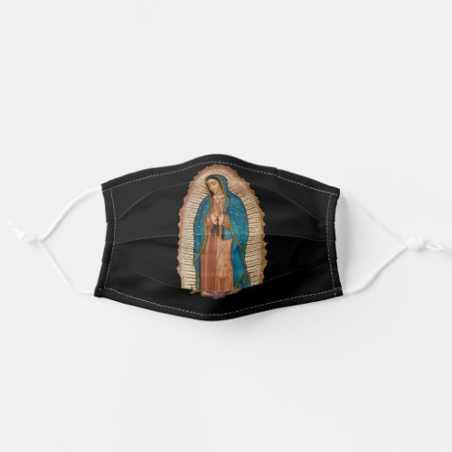 Mexican Virgen de Guadalupe face mask cover