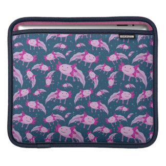 Mexican Walking Fish Pattern Sleeves For iPads
