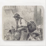 Mexican Water-Carrier Mouse Pad