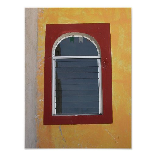 Mexican Window Poster