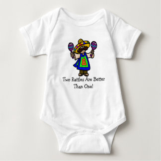 Mexican with Maracas Baby Shirt   Customize It!