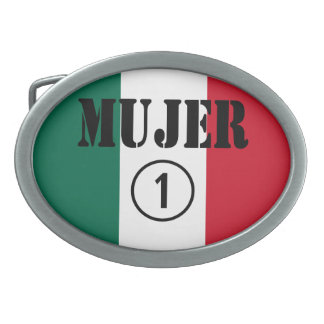 Mexican Wives : Mujer Numero Uno Belt Buckle