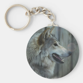Mexican Wolf Keychain